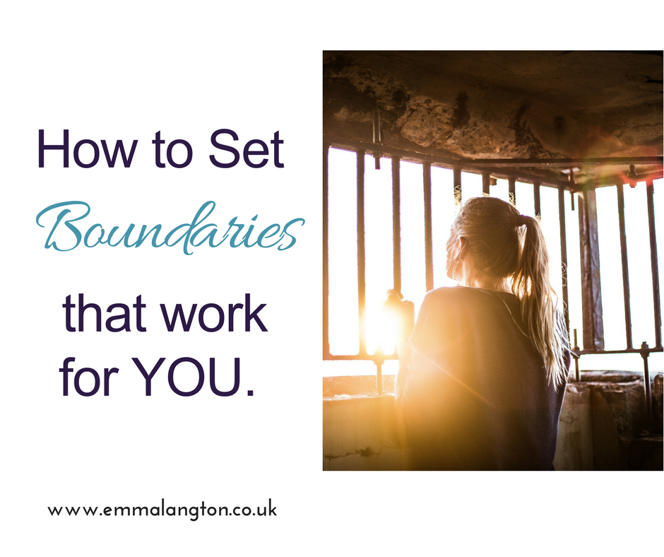 Boundaries that work